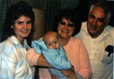 Fall 1987 ~ First time meeting my birthparents with ournoldest son
