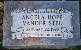 In Memory of our 15 year old baby girl, Angela Hope