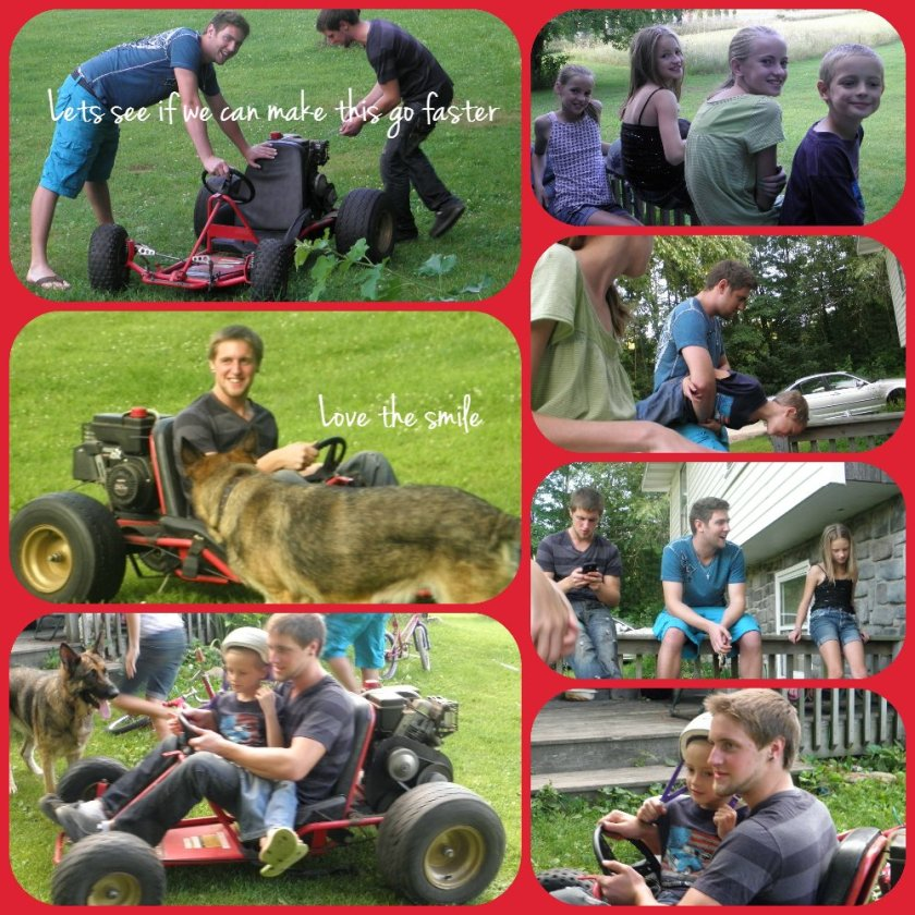 Go-Cart Collage