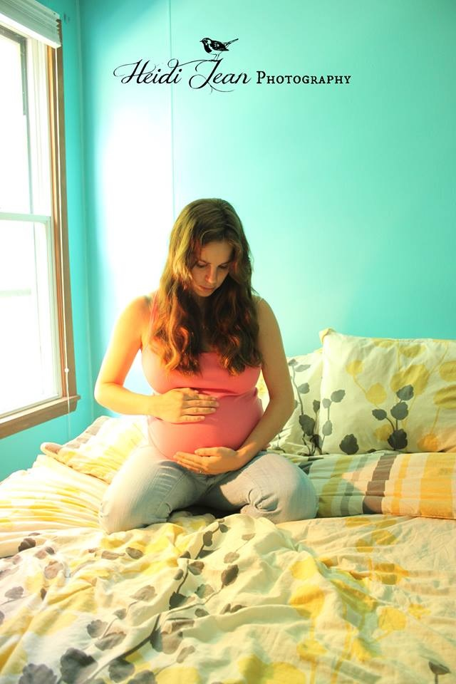 Heidi Pregnant 2