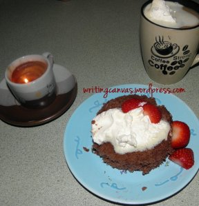 One Minute Cupcake in a Mug! (recipe)