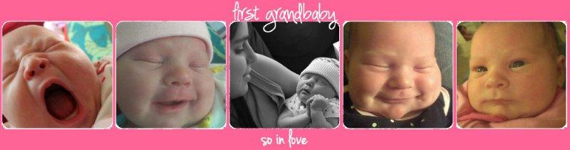 first grandbaby