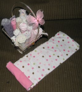 Re-purposing sheets & PJ's for Baby