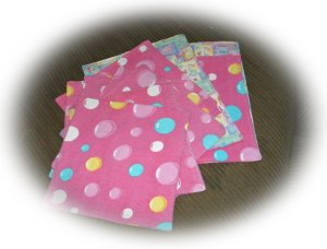 Re-purposing PJ's & Sheets for Baby