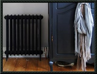 paint black radiator