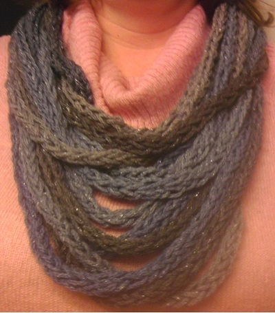Finger Knit Scarf - Easy Afternoon Project