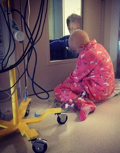 Brother & Sister Visitation: Cancer Sucks