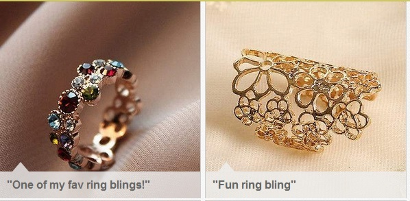 "See my ""#ImBornTo Love Ring Bling"" Collection on eBay!"